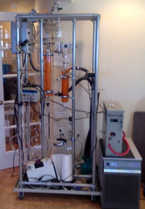 Patent pending high volume alcohol separation system
