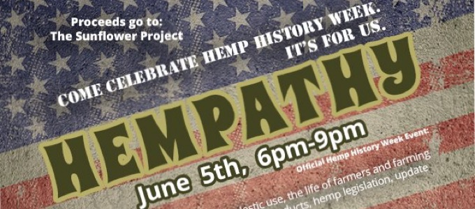 7th Annual Hemp History Week June 6-12