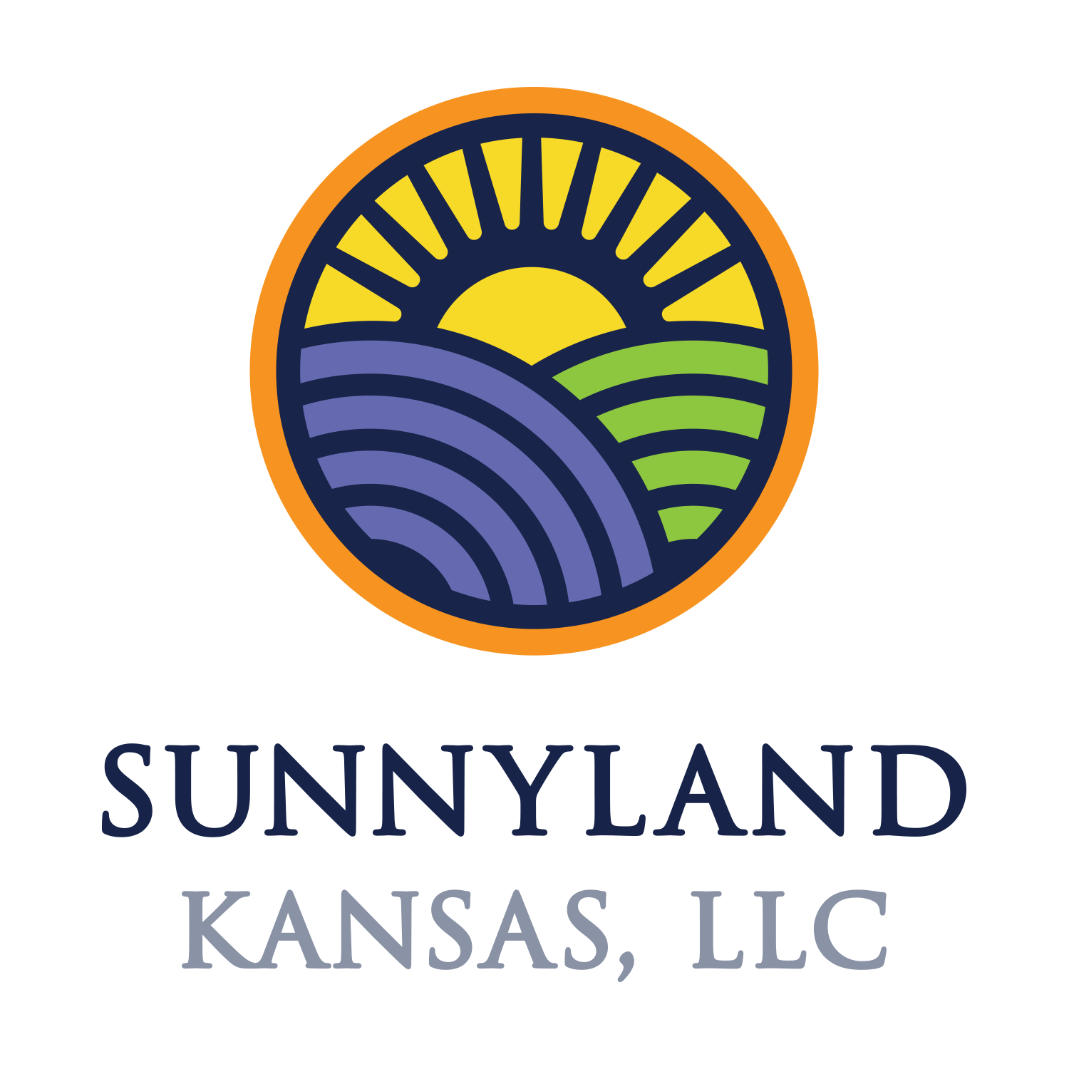 Sunnyland Kansas – Logo – Color